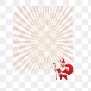 Santa Claus Red Light Shines - Desktop Wallpaper Red Illustration PNG