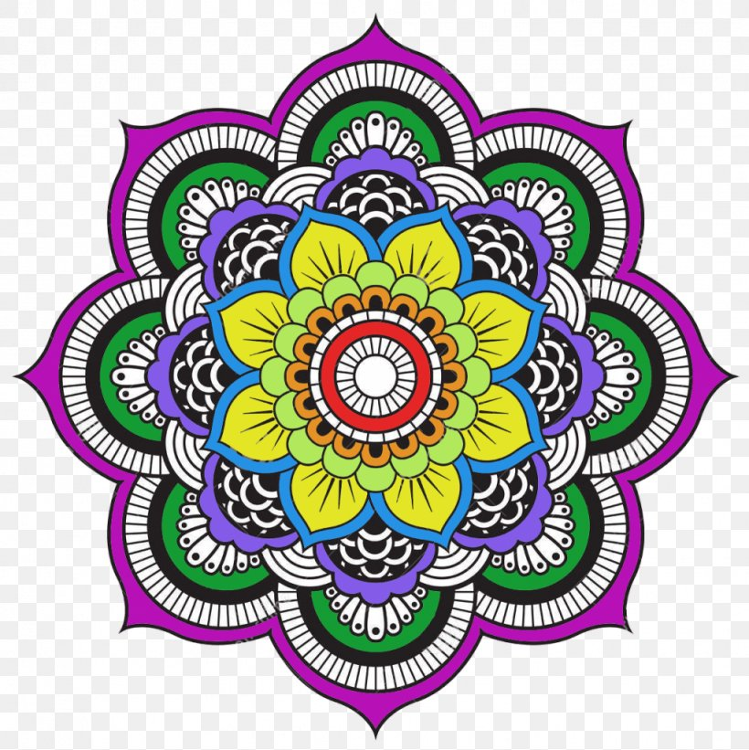 Mandala Coloring Book Mandala Coloring Book Coloring Pages ...