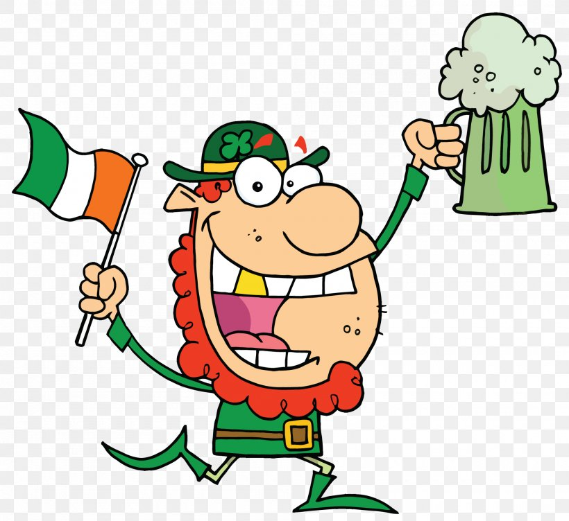 Beer Leprechaun Saint Patrick's Day Clip Art, PNG, 2000x1835px, Beer, Area, Artwork, Cartoon, Christmas Download Free