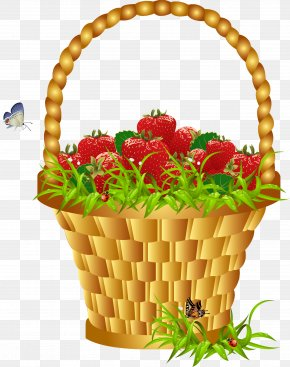 Basket - Easter Basket Clip Art PNG