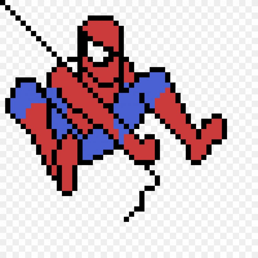 Spider Man Pixel Art Drawing Minecraft Png 1200x1200px