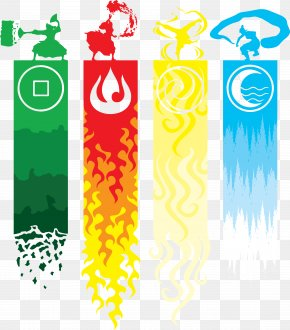 Water And Fire Compatibility - T-shirt Aang Classical Element Water Avatar PNG