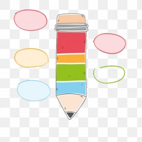 Pencil-shaped Decorative Pattern - Pencil PNG