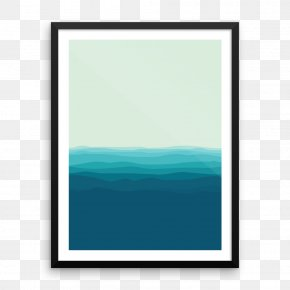 Oceanographic Museum - Picture Frames Turquoise Rectangle Sky Plc Font PNG