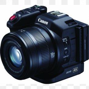 Camera - Canon XC10 Camcorder 4K Resolution Camera PNG
