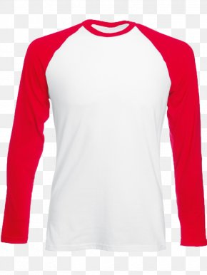 T-shirt - Long-sleeved T-shirt Raglan Sleeve PNG