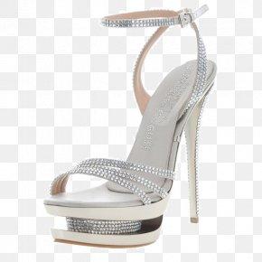 Qian Ma Can Lorenz Waterproof Sandals - Sandal High-heeled Footwear Rhinestone Court Shoe Peep-toe Shoe PNG