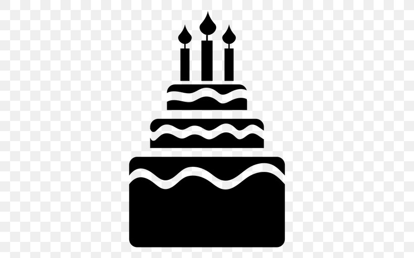 Birthday Cake Cupcake Tart Torta Chocolate Cake Png 512x512px Birthday Cake Birthday Black Black And White
