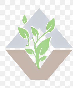 Grass Flower - Green Leaf Logo Plant Flower PNG