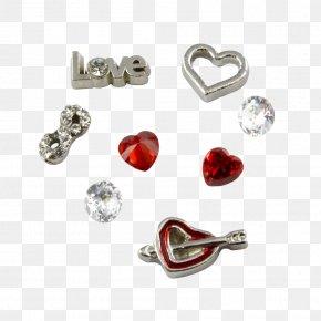 Valentine's Day Promotions - Earring Locket Valentine's Day Charm Bracelet Necklace PNG