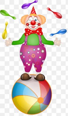 Circus Clown - Clown Circus Cartoon Clip Art PNG