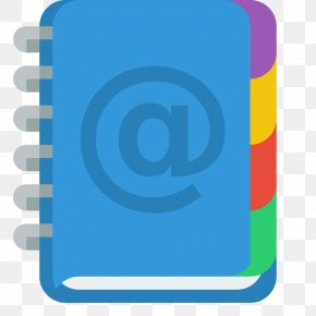 Address Book Alt - Electric Blue Computer Icon Brand PNG