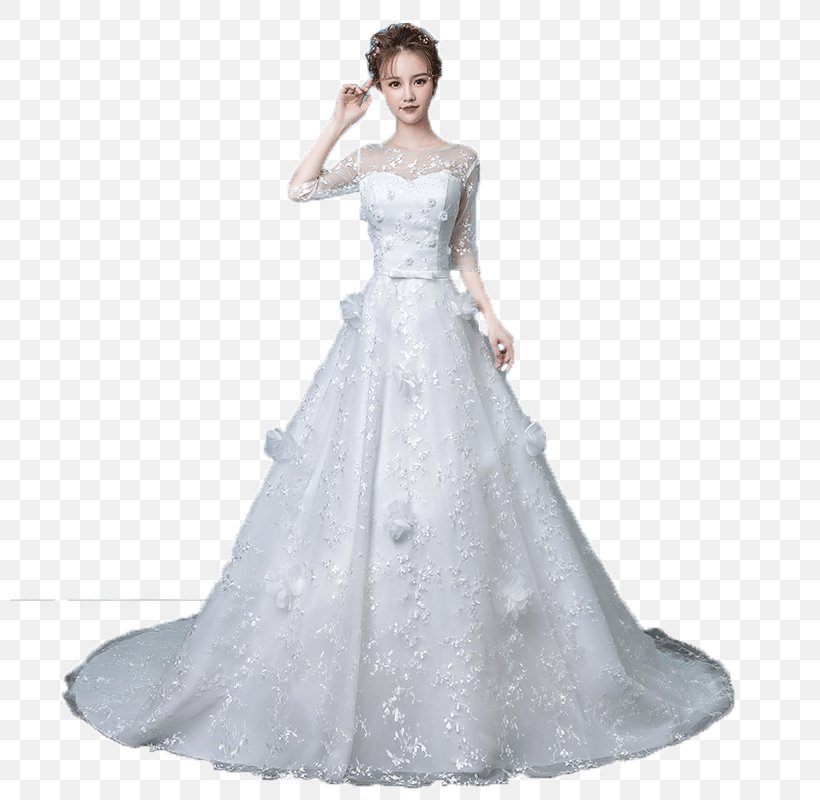 Wedding Dress Bride Clothing Formal Wear, PNG, 800x800px, Watercolor, Cartoon, Flower, Frame, Heart Download Free