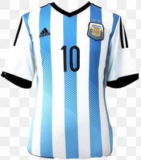 Alex Ferguson - Argentina National Football Team 2014 FIFA World Cup Final FC Barcelona Jersey PNG