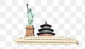 Statue Of Liberty - Temple Of Heaven Forbidden City Old Summer Palace Statue Of Liberty Qi Nian Dian PNG