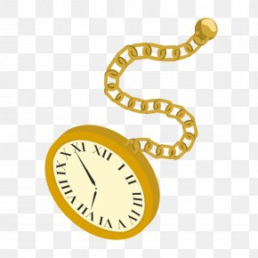 Gold Watch Cliparts - Pocket Watch Clip Art PNG