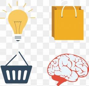 Human Brain Structure - Cerebrum Human Brain Clip Art PNG