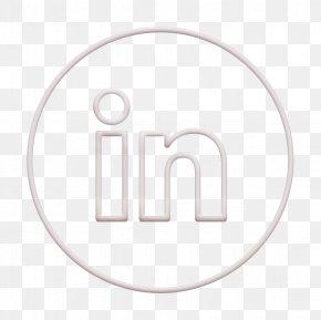 Symbol Logo - Line Icon Linkedin Icon Neon Icon PNG