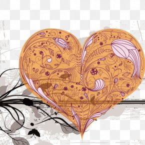 Heart Album - Love Heart Valentines Day Romance PNG