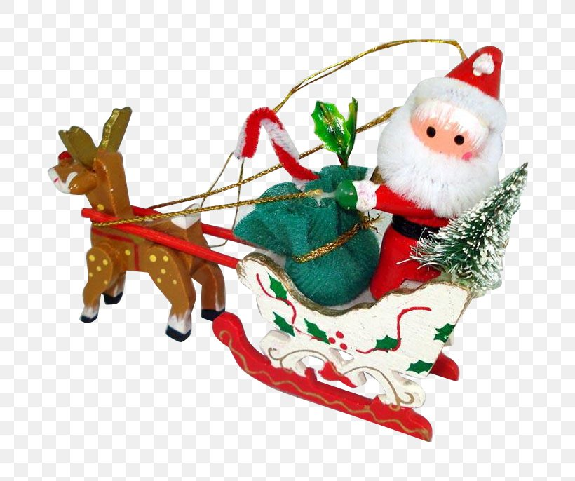 Santa Claus's Reindeer Christmas Ornament Santa Claus's Reindeer Rudolph, PNG, 686x686px, Santa Claus, Animal Figure, Christmas, Christmas Day, Christmas Decoration Download Free