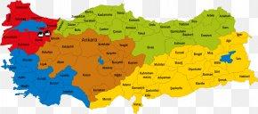 Map - Tokat Province Kastamonu Province Provinces Of Turkey Kütahya Province Map PNG