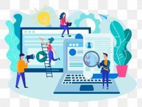 Flat Design Human Resource - Recruitment Job Human Resource Flat Design PNG