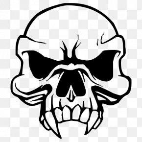 Skull - Skull Vampire Drawing Clip Art PNG