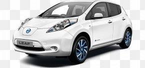 Nissan - 2017 Nissan LEAF 2018 Nissan LEAF Electric Vehicle Car PNG