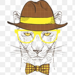 Leopard - Leopard Lion Cartoon Illustration PNG