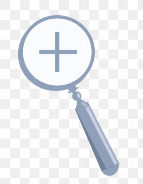 Clip On Magnifying Glass - Loupe Magnifying Glass Zooming User Interface 720p PNG