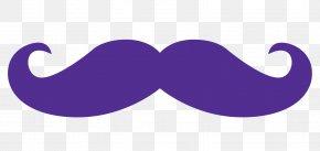 Moustache - Moustache Violet Purple Lilac Necktie PNG