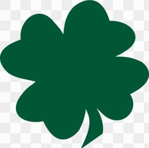 Free Shamrock Clipart - Shamrock Saint Patricks Day Four-leaf Clover Free Content Clip Art PNG