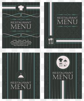 Simple Menu Vector - Cafe Menu Restaurant Chef PNG
