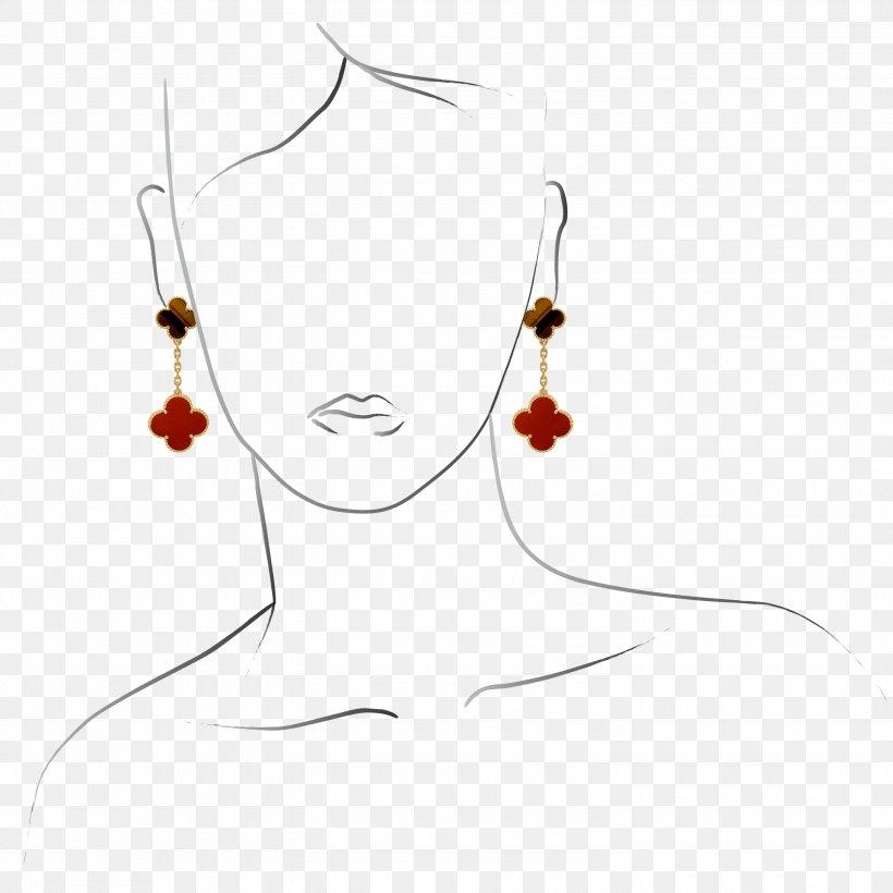 Necklace Earring Van Cleef & Arpels Engagement, PNG, 3000x3000px, Necklace, Alhambra, Culture, Earring, Engagement Download Free
