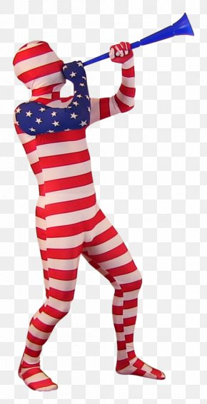 United States - Flag Of The United States Costume Zentai PNG