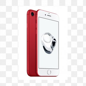 Apple - IPhone 7 Plus Product Red Special Edition Apple Telephone PNG