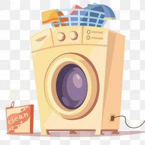 Washing Machine - Washing Machine Flat Design PNG