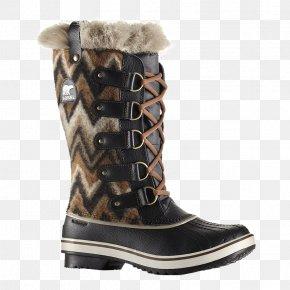Winter Women - Slipper Snow Boot Shoe Wellington Boot PNG