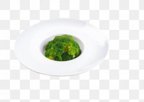 Broccoli - Plate Dish Recipe PNG