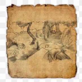 Treasure - Elder Scrolls Online: Clockwork City The Elder Scrolls Online Treasure Map PNG