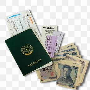 Free Passport Foreign Currency Tickets Pull Material - Airline Ticket Passport Boarding Pass PNG