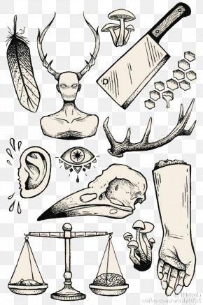 Tattoo PDA - Flash Sleeve Tattoo Drawing Irezumi PNG