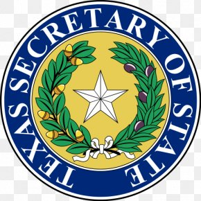 Secretary Of State Of California - Secretary Of State Of Texas Texas Senate Seal Of Texas United States Federal Executive Departments PNG