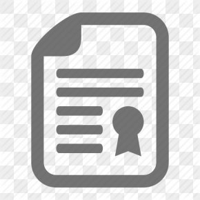 Icon Symbol Contract - Document Seal PNG
