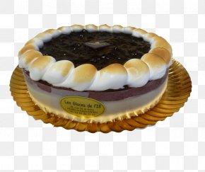 Ice Cream - Tart Ice Cream Blueberry Pie Torte Frozen Dessert PNG