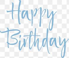 Happy Birthday, Blue Sky! - Birthday PNG