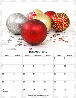 Year Over Year After Year Flavor Material Picture - Christmas Decoration Calendar December Holiday PNG