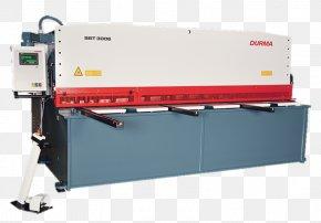 Press Brake - Cutting Tool Machine Shear Computer Numerical Control Sheet Metal PNG
