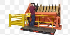Warehouse - Pallet Warehouse Crane Wood Material Handling PNG