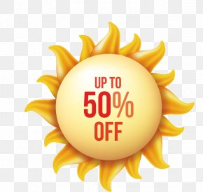 Summer Sun - Symbol Black Sun Logo Icon PNG